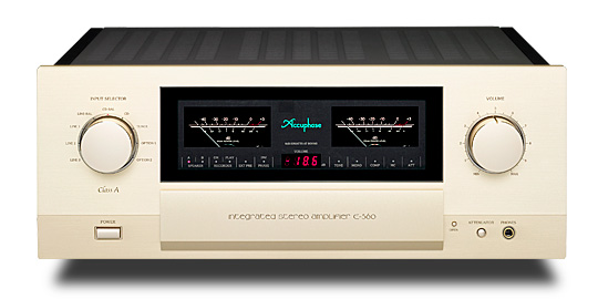 E-550 Integrated amplifier